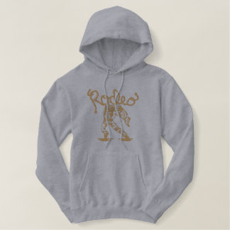 Rodeo Clown Embroidered Hoodie