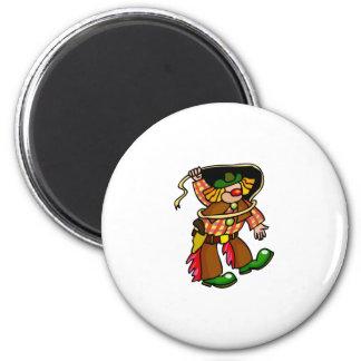 Rodeo Clown Magnet