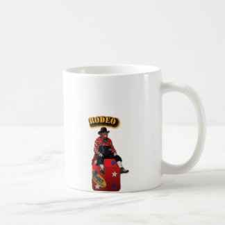 Rodeo Clowns with Text Classic White Coffee Mug