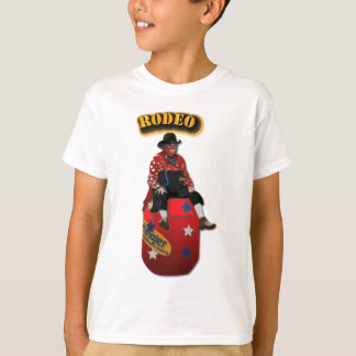 Rodeo Clowns with Text T-Shirt