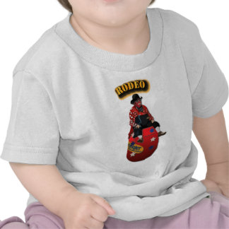 Rodeo Clowns with Text Tees