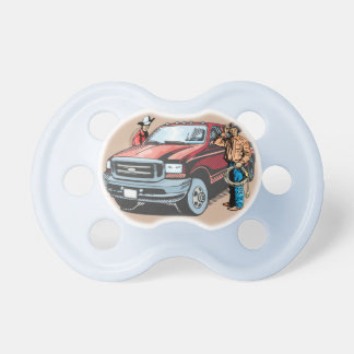 Rodeo Cowboy Baby Pacifier