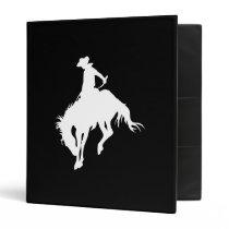 Rodeo Cowboy Binder