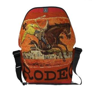Rodeo Cowboy Courier Bag
