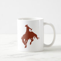 Rodeo Cowboy in Sienna Coffee Mug