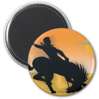Rodeo Cowboy Fridge Magnets