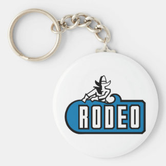 Rodeo Cowboy - Old West Keychain