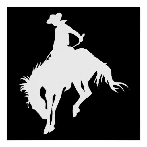 Rodeo Cowboy Posters