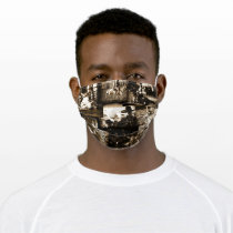 Rodeo Cowboy Rustic Country Western Adult Cloth Face Mask