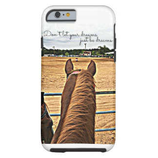 Rodeo Cowgirl Barrel Racer Tough iPhone 6/6s Case