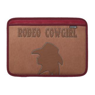 Rodeo Cowgirl Western Macbook Sleeve
