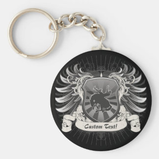 Rodeo Crest Keychains