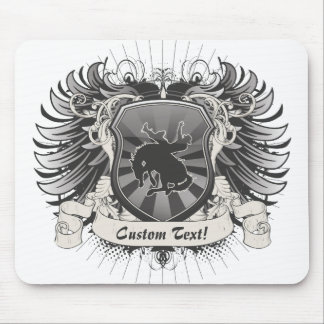 Rodeo Crest Mouse Pad