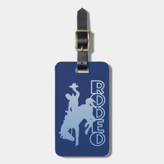 RODEO custom luggage tag