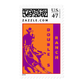 RODEO CUTTING HORSE RANCH PERSONALIZED STAMPS