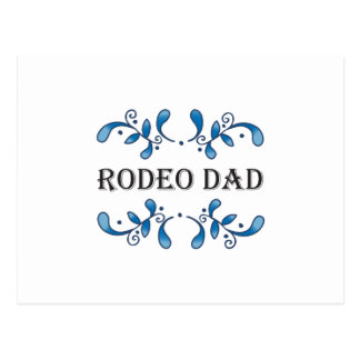 RODEO DAD POSTCARD