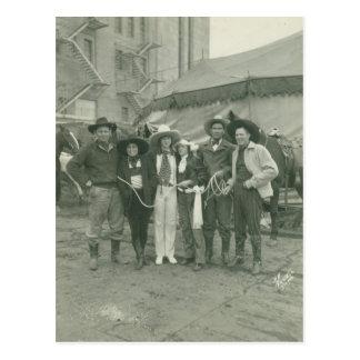 Rodeo de Chicago, 1929. Postales