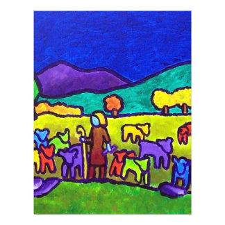 "Rodeo de las ovejas por Piliero Folleto 8.5"" X 11"""