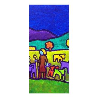 Rodeo de las ovejas por Piliero Plantillas De Lonas