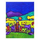 Rodeo de las ovejas por Piliero Tarjeton