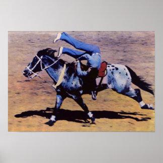 Rodeo de Reno Nevada Reno Póster