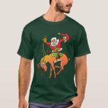 Rodeo del navidad de Santa Playera