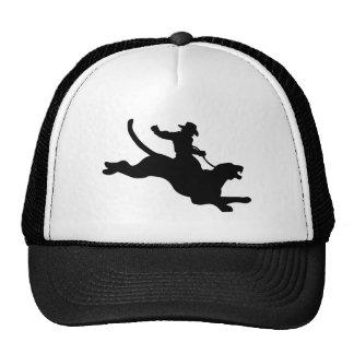 Rodeo del puma gorras de camionero