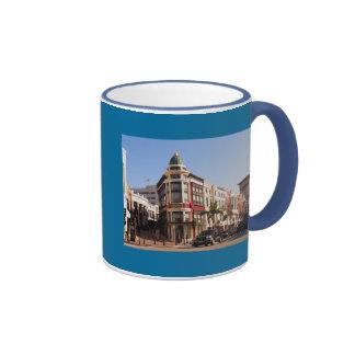 Rodeo Drive, Beverly HillsCaliforniaRodeo Drive Ringer Coffee Mug