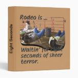 Rodeo - Eight Seconds Vinyl Binder