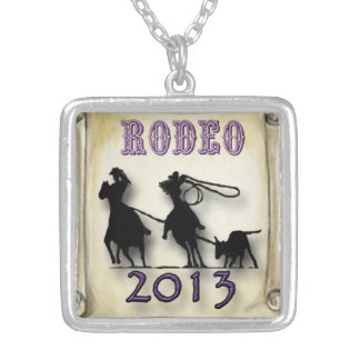 Rodeo Gal, Team Roping pendant