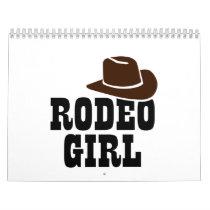 Rodeo girl calendar
