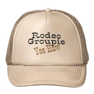 Rodeo Groupie Yee Haw Trucker Hat