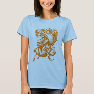 Rodeo Horse Orange T-Shirt