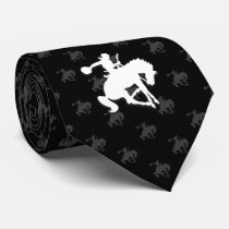 Rodeo Horses | Black Neck Tie