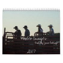 Rodeo Images, 2007, Photos by ... Calendar