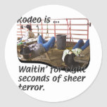Rodeo-is Classic Round Sticker
