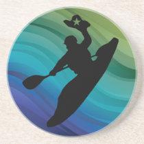 Rodeo Kayak Drink Coaster