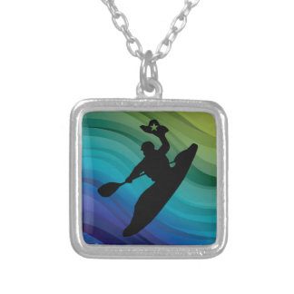 Rodeo Kayak Silver Plated Necklace