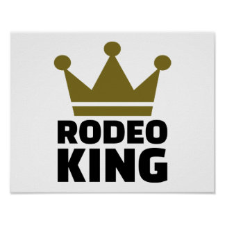 Rodeo king poster