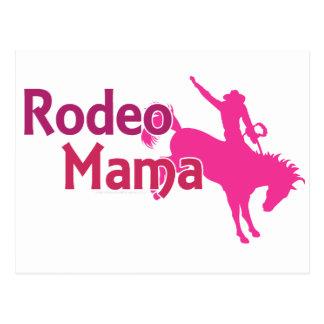 Rodeo Mama Postcard