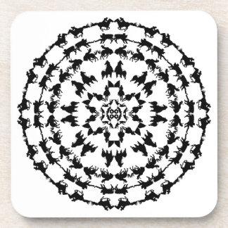 Rodeo Mandala Coaster 1