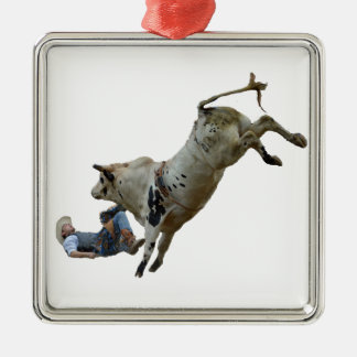 Rodeo Metal Ornament
