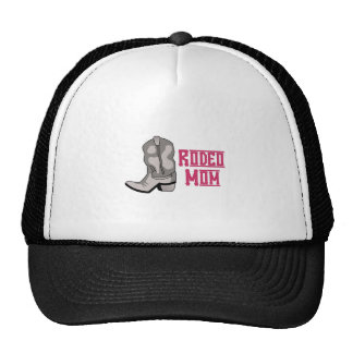 RODEO MOM TRUCKER HAT