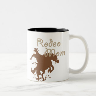 Rodeo Mom Two-Tone Coffee Mug