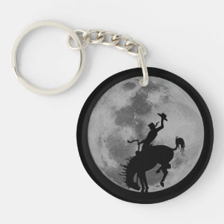 Rodeo Moon Keychain