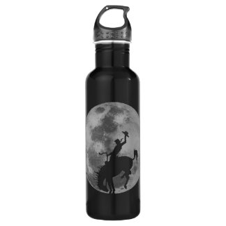 Rodeo Moon Stainless Steel Water Bottle