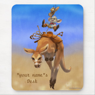 Rodeo Mouse and Rodeo Roo Mousepads