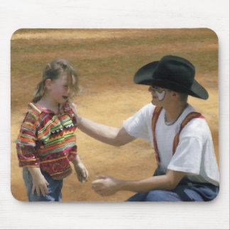 Rodeo - Mutton Bustin- There is SO crying in Rodeo Mouse Pad