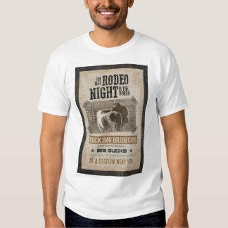 Rodeo Night - Bucking Broncos T-Shirt