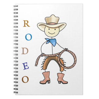 RODEO SPIRAL NOTE BOOKS